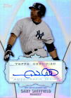2013 Topps Replacement Autographs #GS Gary Sheffield Auto - NM-MT