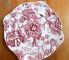 Johnson Brothers English Chippendale rose floral small plate 8