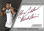 2011 Topps UFC Title Shot The Ultimate Fighter Auto Red Ink Keon Caldwell 10