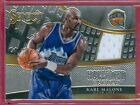2014-15 SELECT (BKB) Karl Malone SP ON HALLOWED GROUND JERSEY CARD #d 130/149