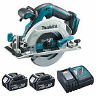 MAKITA 18V DHS680 DHS680Z CIRCULAR SAW, 2 x BL1840 BATTERIES & DC18RC CHARGER