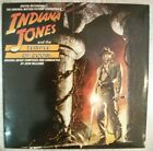 OST INDIANA JONES AND THE TEMPLE OF DOOM LP VINYL EX VG+ sticker mark SPAIN