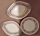 lot spode Firenze 1 salad & 2 oval vegetable serving bowls 9 1/2 & 10 1/8