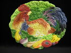 Fitz And Floyd Classics Coq Du Village Rooster Oval Plate, 9 1/2