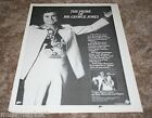 VINTAGE GEORGE JONES PRIME Magazine Photo Clipping Ad