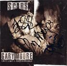 GARY MOORE Scars FULLY SIGNED - Thin Lizzy Primal Scream Skunk Anansie AUTOGRAPH