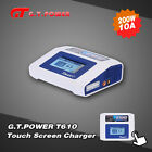 G.T.POWER T610 Touch Screen 200W LiPo LiFe Lion NiCd NiMh Battery Charger
