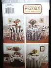 3341 BUTTERICK WAVERLY Table Toppers Folding Chairs Back Covers Pattern UNCUT