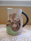 Vintage Royal Sealy Capri Hand Painted Pitcher (Made In Japan), 32 Oz