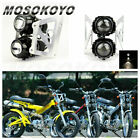 For Sachs MadAss 50 125 500 KIKASS Motorcycle Streetfighter Headlight