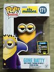 FUNKO POP! MINIONS DISPICABLE ME GONE BATTY #171 SDCC 2015 SUMMER EXCLUSIVE NIB
