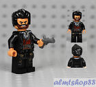 LEGO - Pirate Bandit Minifigure w/ Black Jacket Red/Gold Vest & Gray Pistol