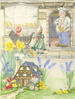 Gill Were - Mid 20th Century Watercolour, Pat-a-Cake