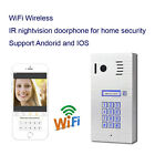 New Wifi wirless IR Doorphone Intercom support smart phone Andorid IOS doorbell