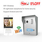 Wireless Wifi IR D/N Doorphone Intercom support smart phone Andorid IOS doorbell