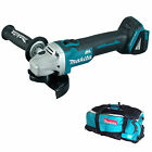 MAKITA 18V LXT DGA454 DGA454Z DGA454RFE ANGLE GRINDER AND DK18027 BAG