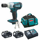 MAKITA 18V LXT DTW251 DTW251Z IMPACT WRENCH 2 x BL1840 1 x DC18RC 1 x BAG