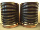 Vintage Panasonic SB 201 space age mid century round speakers 70s retro Japan
