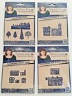 Tattered Lace Dies Panorama Trees Street Scene Pub Post Office Church Shop
