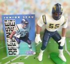 1996  JUNIOR SEAU - Starting Lineup - SLU - Loose With Card - San Diego Chargers