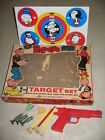 Popeye Brutus Lido 1950s tin litho target playset boxed comic book character