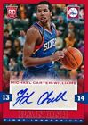 2013-14 Panini First Impressions Autograph #7 Michael Carter-Williams RC AUTO