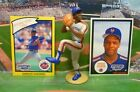 1990  DWIGHT GOODEN - Starting Lineup - loose Figure & Two Cards - NEW YORK METS