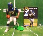 1995  NATRONE MEANS - Starting Lineup - SLU - Figure & Card - SAN DIEGO CHARGERS