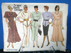 Sewing Pattern Misses Dress Multi Length & Style~Vogue-Vintage 1797