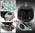 Universal 38Mm External Wastegate Turbo Charger Boost Cast Steel Bypass Black