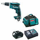 MAKITA 18V DFS452 DRYWALL SCREWDRIVER BL1830 BATTERY DC18RC CHARGER