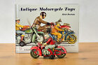 #Antique Tin Toy# Huki Kienberger Zundapp Motorcycle Driver Figure Germany
