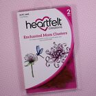 Heartfelt Creations Cling Rubber Stamp Enchanted Mum Clusters HCPC3695 RETIRED