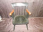Nichols & Stone Hitchcock Style Eagle Back Windsor Colonial Arm Chair Vintage