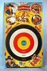 1950s Hopalong Cassidy Large Tin Target Game Board w/Stand Marx Toy William Boyd