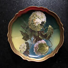 E G Royal Austria Plate Hand Paint Hydrangeas / Boule-de-Neige (Snow Ball)