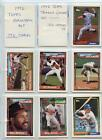 1992 Topps Baseball Set 792 Cards With Traded Set 132 Cards New In Binder