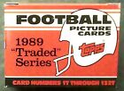 1989 Topps Football Traded Set Just Opened Case T Aikman B Sanders Rookie 10's??