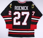 JEREMY ROENICK AUTHENTIC AUTOGRAPHED FRAMED AND MATTED CHICAGO BLACKHAWKS JERSEY
