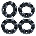 4x 2 Black Wheel Spacers Adapters 6x55 for Chevy Silverado 1500 Tahoe Suburban