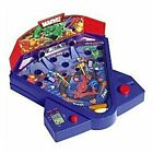 NEW MARVEL HEROES ELECTRONIC POWER PITCH GAME TABLETOP BASEBALL PINBALL ARCADE