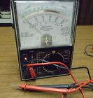 VINTAGE  MICRONTA MULTIMETER RANGE DOUBLER MULTITESTER 22-204B WITH LEADS