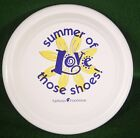 PROMO FLYING SAUCER FASTBACK DISC SUMMER OF LOVE THOSE SHOES FAMOUS FOOTWEAR