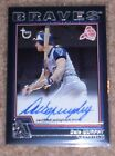 Dale Murphy 2004 Topps Black Bordered Autograph Card