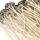 HTP 1212 COTTON CORE PRETABBED WICKS 6 LENGTH GREAT IN SOY OR PARAFFIN WAX