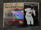 2008 Bowman Draft DANIEL MURPHY AUTO Signs Of The Future Autograph NEW YORK METS