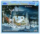 White Mountain Puzzles Friends in Winter - 1000 Piece Jigsaw Puzzle XMAS GIFT