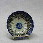 Polish Pottery Berry bowl Beautiful Boleslawiec 4-1/2