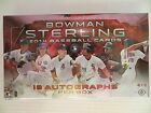 2014 BOWMAN STERLING BASEBALL FACTORY SEALED HOBBY BOX 18 AUTOGRAPHS