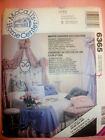 6365 McCalls HOME DEC Bedroom Wall Canopy Table Skirt Window Cover Pattern UNCUT